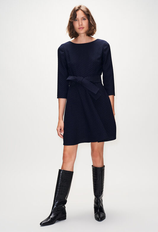 ROSELIEH19 : Dresses color NAVY