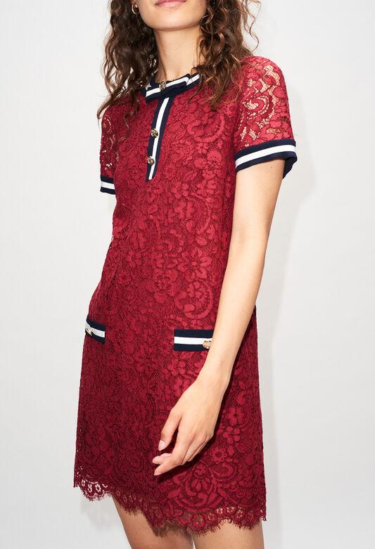 ROMILOAH19 : Dresses color CERISE