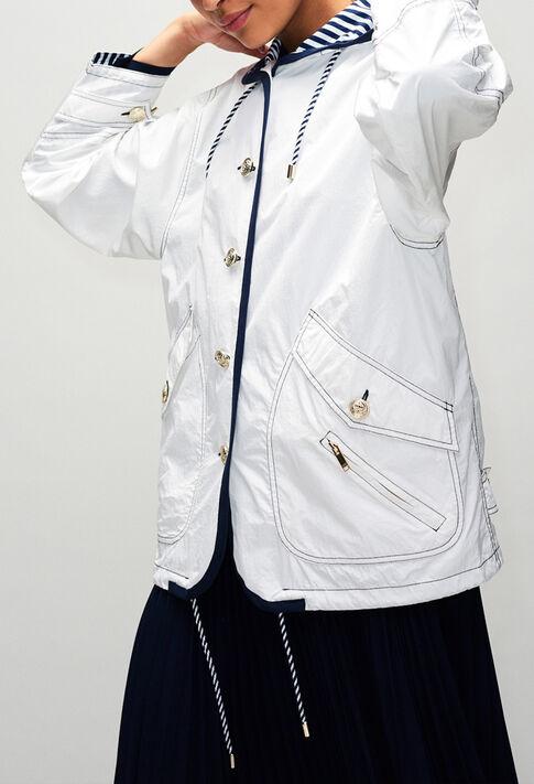 GIANIH19 : Coats & Jackets color ECRU