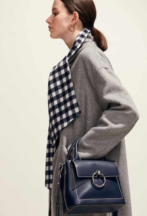 ANOUCK SMALL SADDLE STITCH : All at 50% off and more color MARINE
