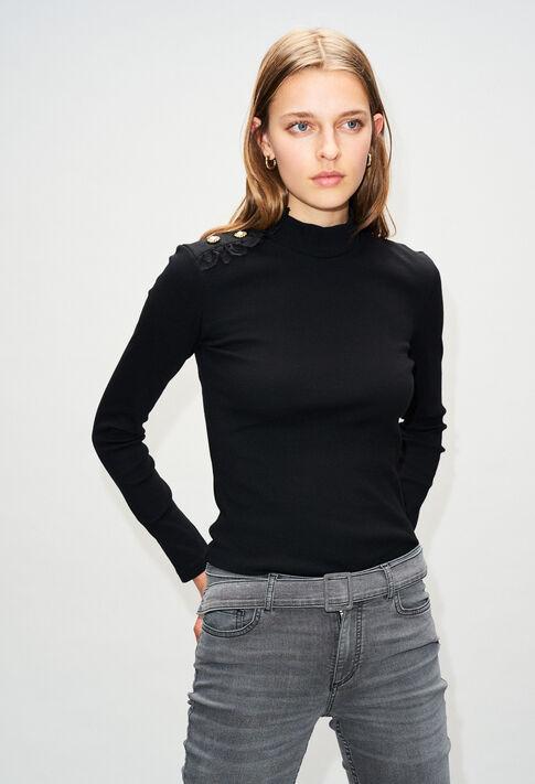 TRICHH19 : T-shirts color BLACK