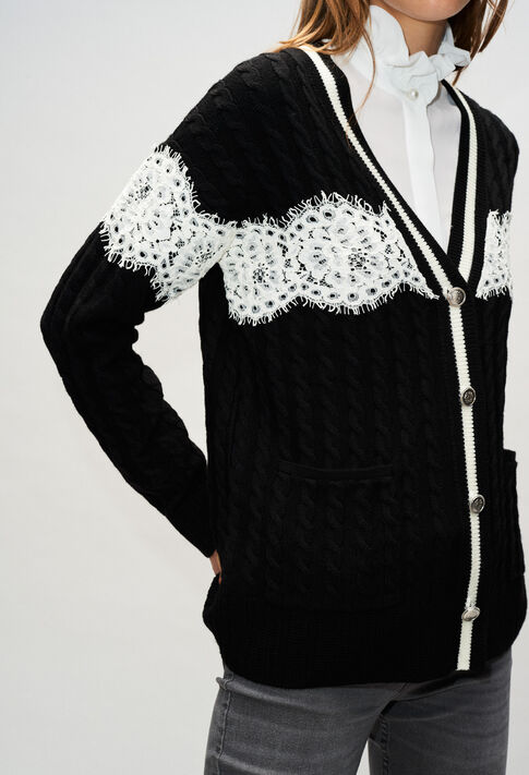 MIELH19 : Knitwear & Cardigans color BLACK