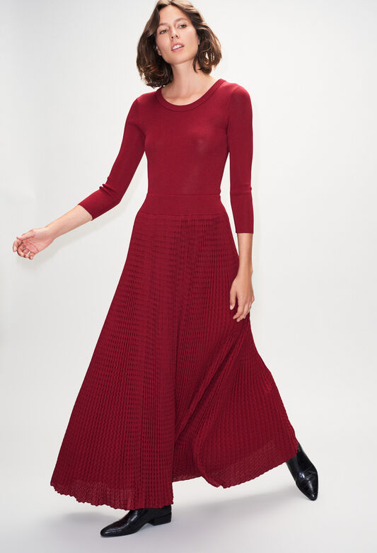 MAGNIFICAH19 : Dresses color CERISE