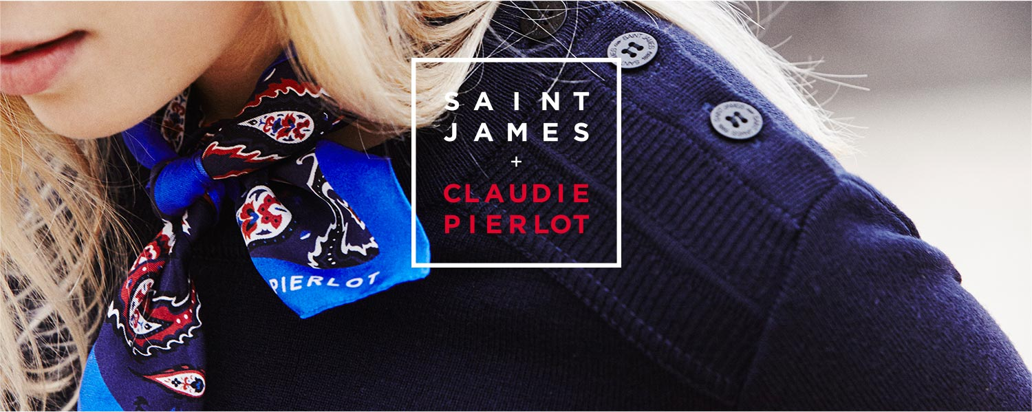 This is a story about two French brands teaming up who share the same  values  Saint James - creators of the classic nautical sweaters since 1889  and Claudie ... 4bc67d7f53e9